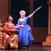 Blonde in The Abduction from the Seraglio Dayton Opera Photo: Scott Kimmins ​