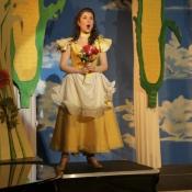 Eurydice in Orpheus in the Underworld with Light Opera NJ 2013