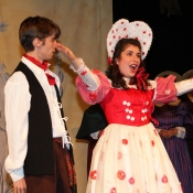 Mabel in Pirates of Penzance with Alex Corson, Tenor