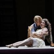 Euridice in Monteverdi's L' Orfeo - Chautauqua Opera - Photo: Paula Ospina